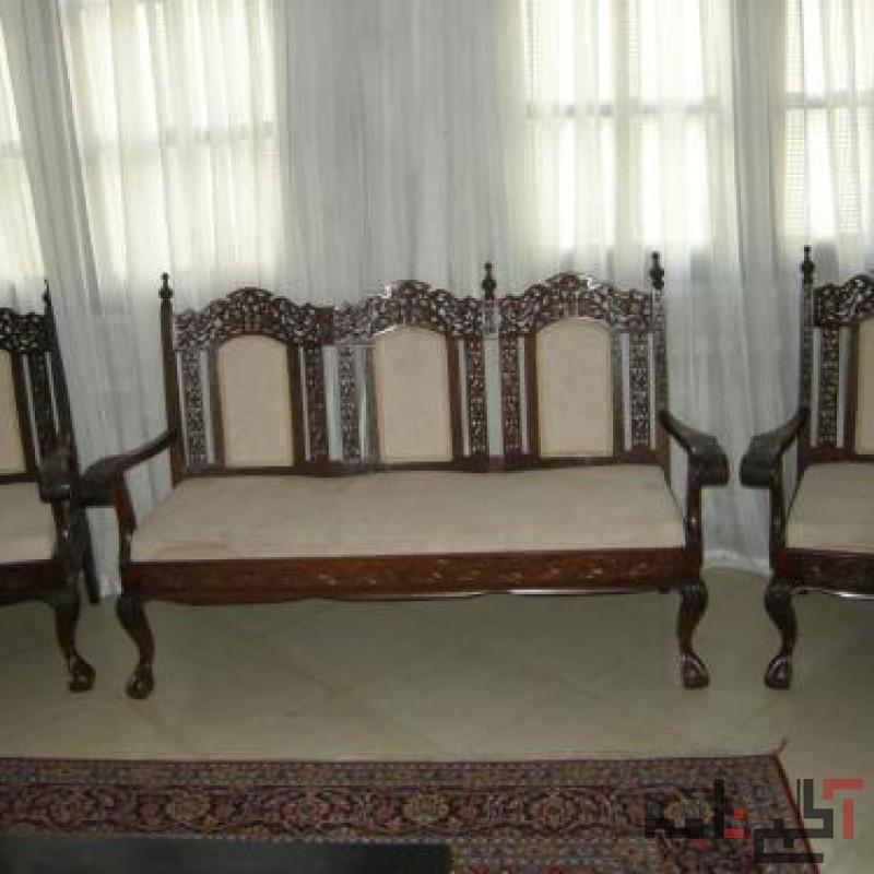 مبلمان و میز وصندلی آنتیک و قدیمی