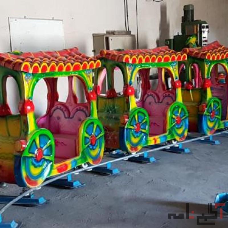 شهر بازی قطار ده نفره کودک