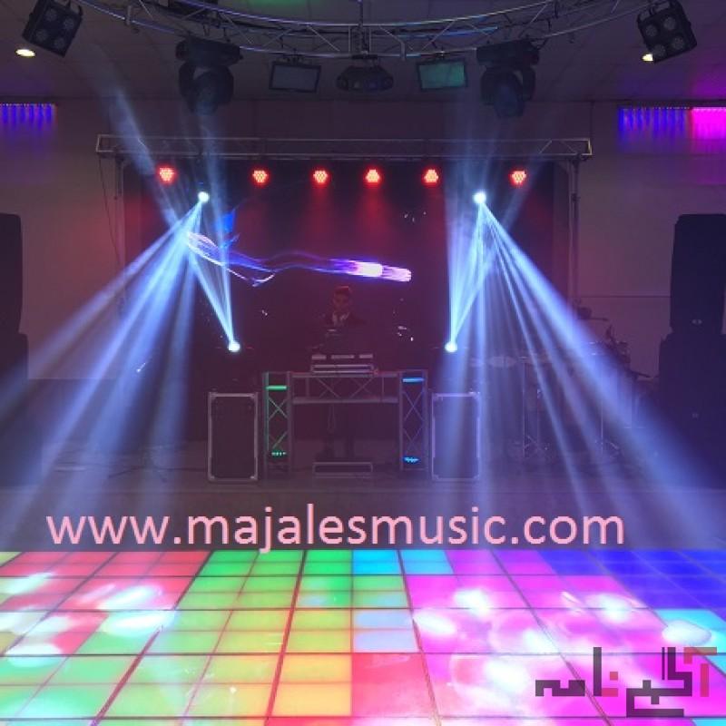 اجرای موزیک زنده  و دی جی برای مجالس