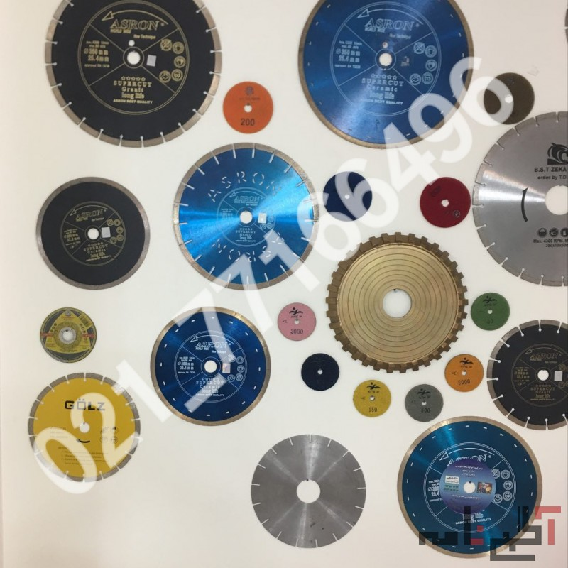 فروش انواع دیسک برش سنگ و سرامیک و اجر بر(77166496-021)