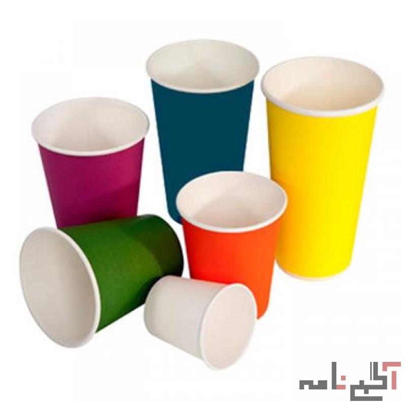 تولید و فروش عمده لیوان کاغذی