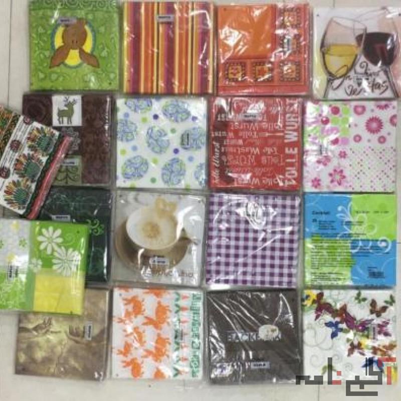 واردات و توزیع انواع محصولات یکبار مصرف