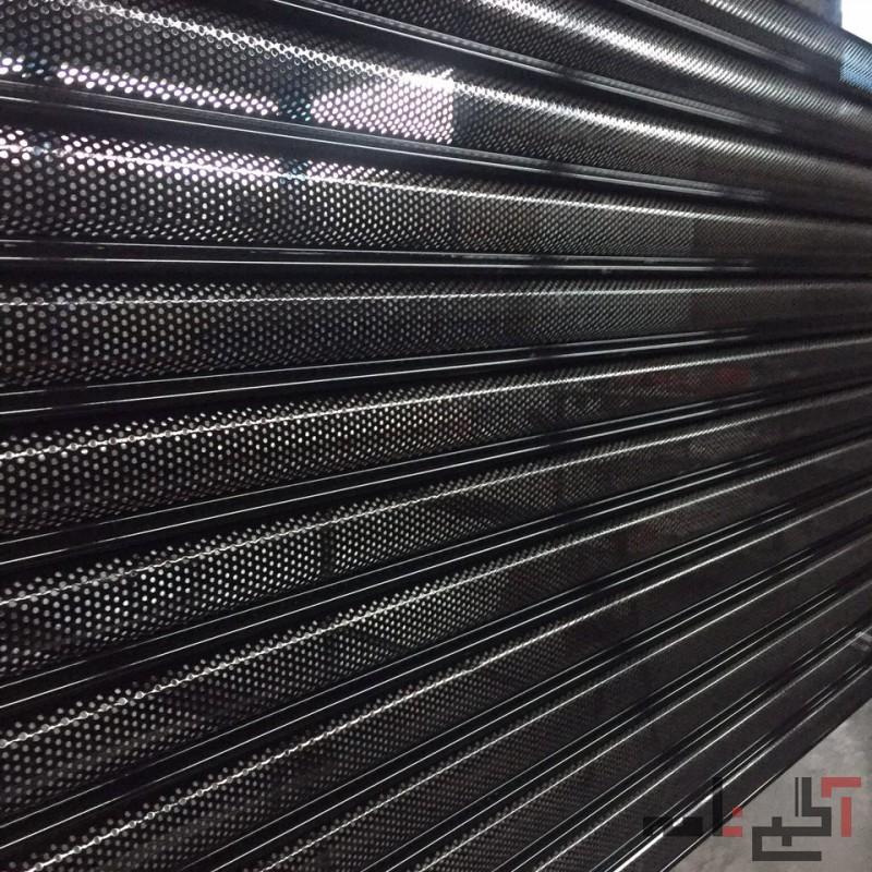 کرکره های تک جداره فولادی اتوماتیک