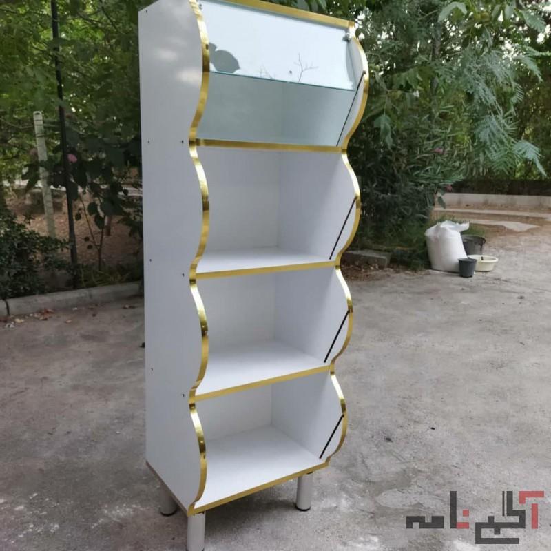 قفسه خشکبار و عطاری درب دار بهداشتی