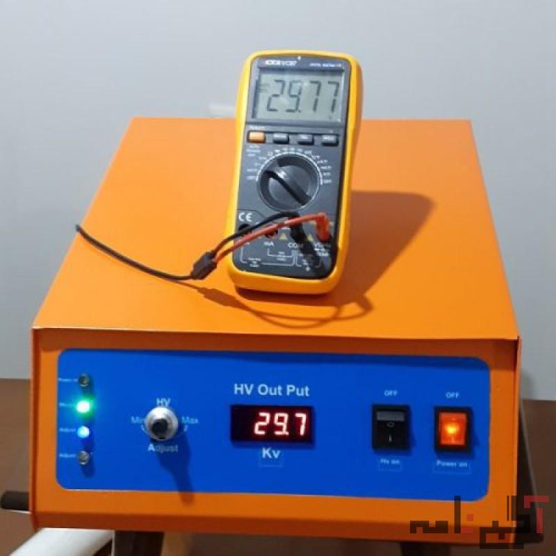 هایولتاژ) منبع اختلاف پتانسیل الکتریکی)