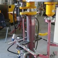 ساخت ماشین الات صنعتی و میکسر رنگ و رزین و مایع در ابعاد مختلف