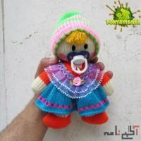 عروسک کاموایی مدل دخترک پستونکی کدکالا 90201
