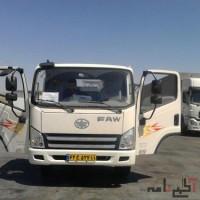 کامیونت فاو 6 تن  با کمترین پیش پرداخت سود مصوب بانک مرکزی سند بنام  تحویل فوری  خانم مقدم0938303011