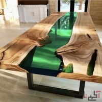 ساخت میز رزین اپوکسی