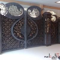 ساخت درب فرفوؤزه شیراز و درب cnc شیراز بوشهر
