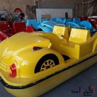 قایق پدالی طرح جدید ماشینی