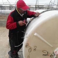 جوشکاری و تعمیرات تانکر های پلاستیکی در محل