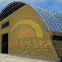طراحی و ساخت سوله قوسی UBM