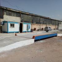 فروش باسکول 50 تن روی زمین از نوع بتن فلز پیش ساخته